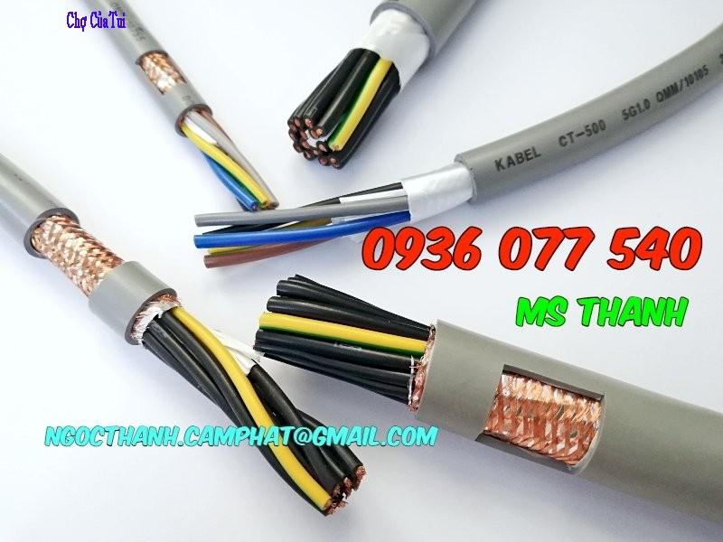 Cáp điều khiển Altek Kabel 6G0.75 SQM - Cáp điều khiển có lưới chống nhiễu SH-500