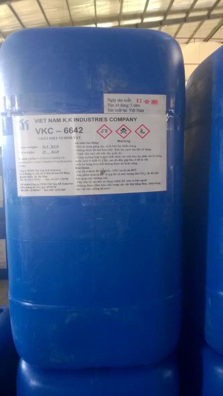 Cung cấp hóa chất diệt khuẩn VKC-6642