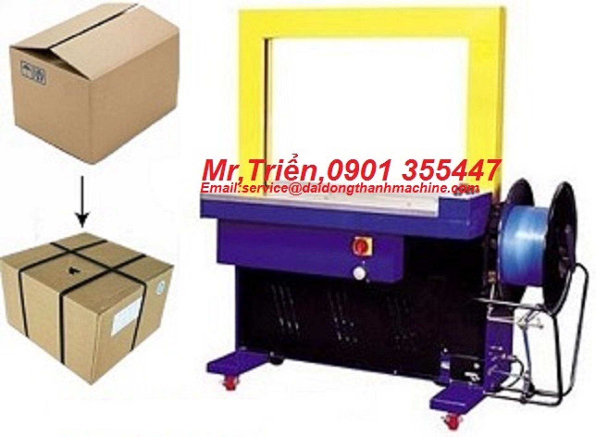 Máy đai niềng thùng carton tự động DBA-200