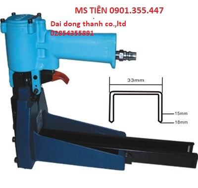 Máy bấm ghim thùng bằng khí nén model ACS-19 Made in Taiwan
