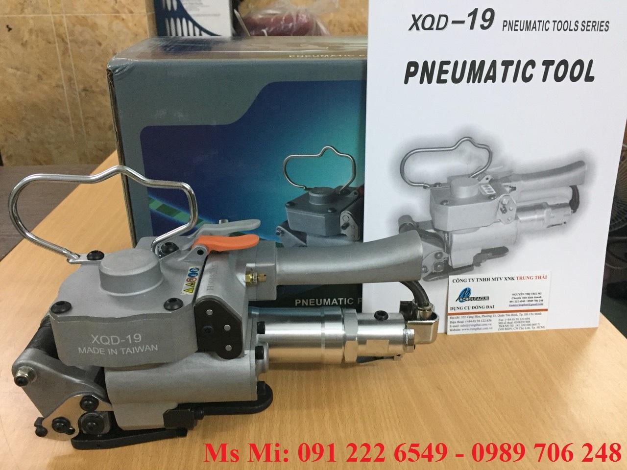 Máy đóng đai dùng khí nén XQD-19/ PTM-19