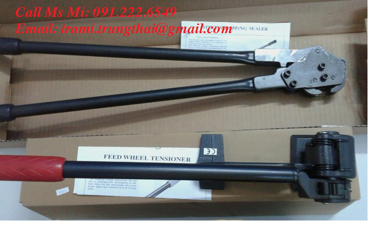 Dụng cụ đóng đai thép 32mm bằng tay YBICO S298 và C3173