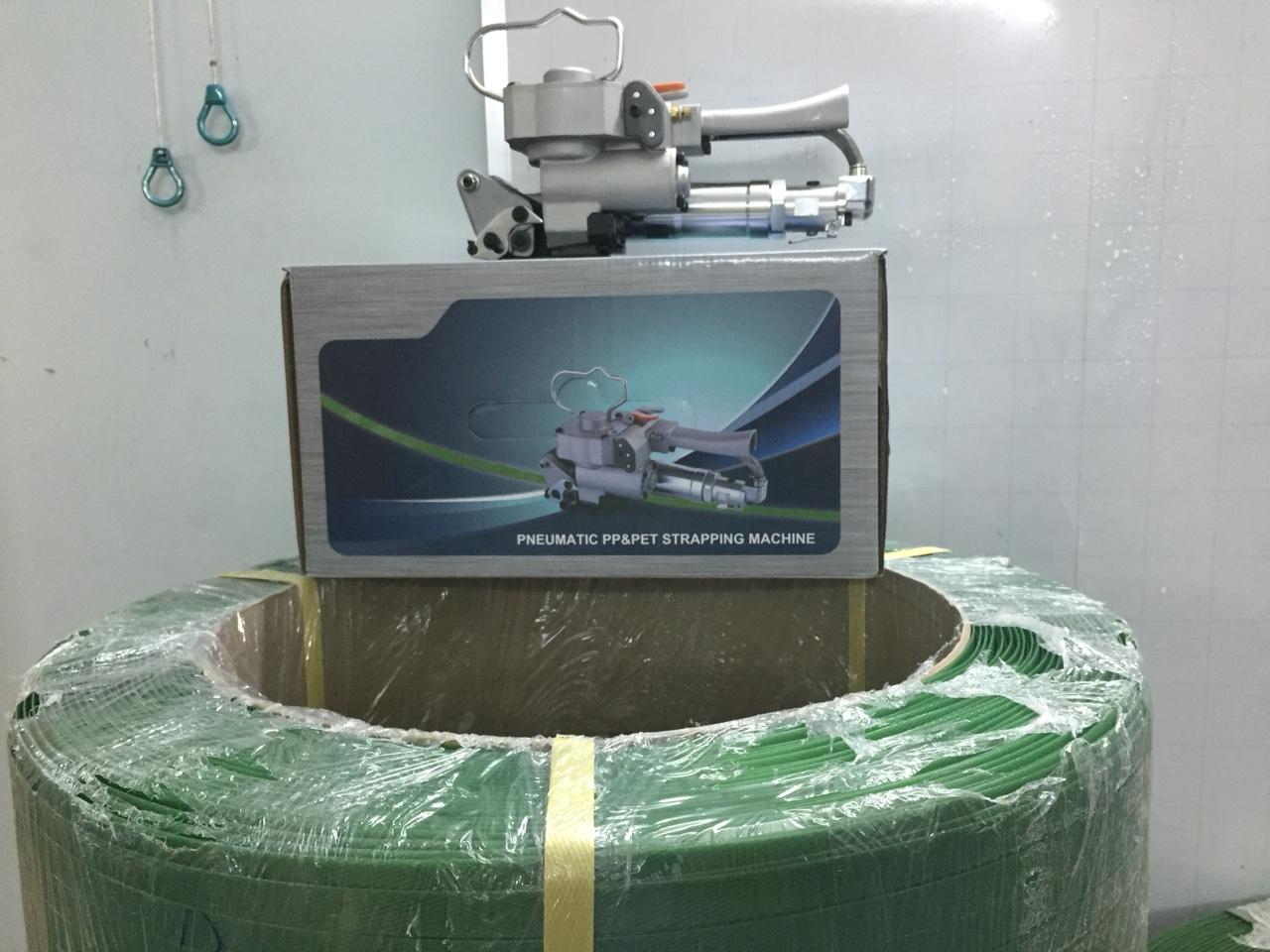 Máy đóng đai nhựa dùng khí nén hàn nhiệt XQD-19 (AQD-19)