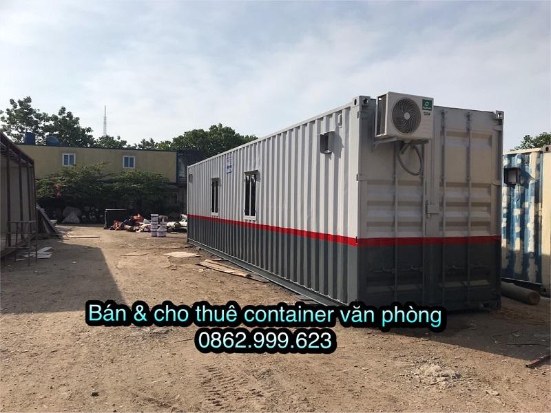 Container văn phòng 40 feet giá rẻ