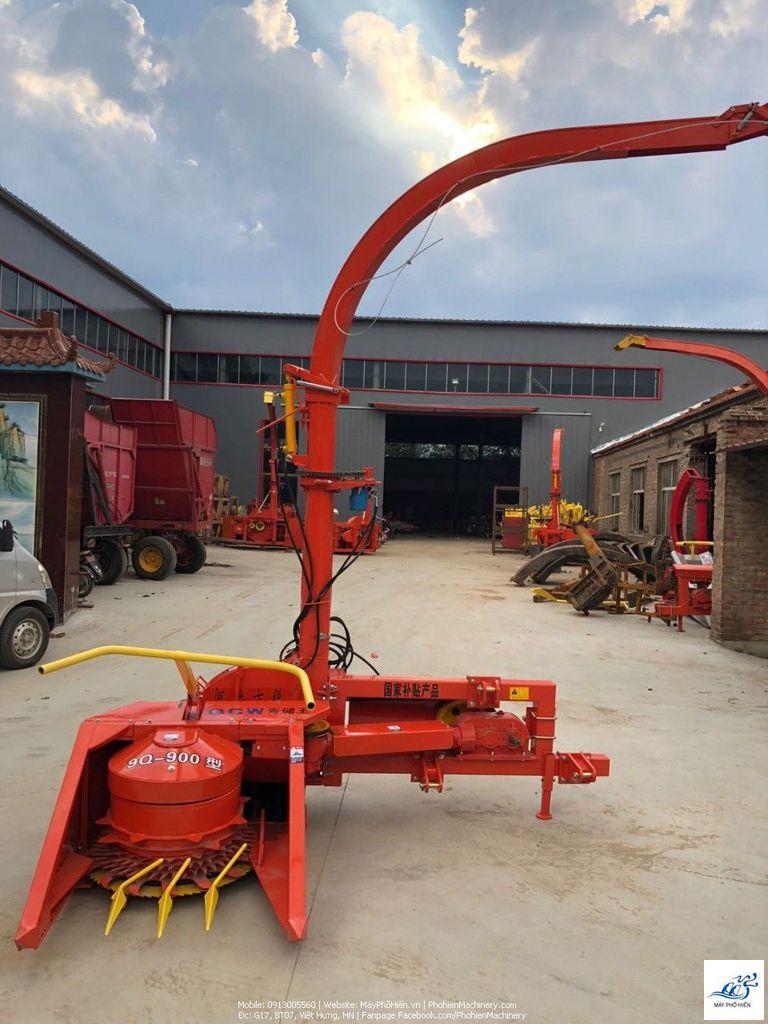 Máy băm ngô- cỏ voi gắn máy kéo dùng cho chăn nuôi