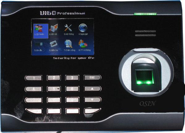 Máy chấm công vân tay/thẻ OSIN U160
