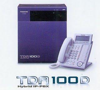 Tổng đài Panasonic KX-TDA100D