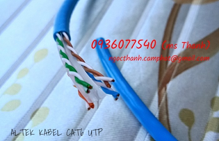 Cáp mạng network cable utp cat6 Altek Kabel 305M