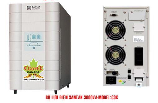 Bộ lưu điện UPS Santak Online C3K