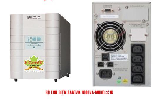 Bộ lưu điện UPS Santak online C2K