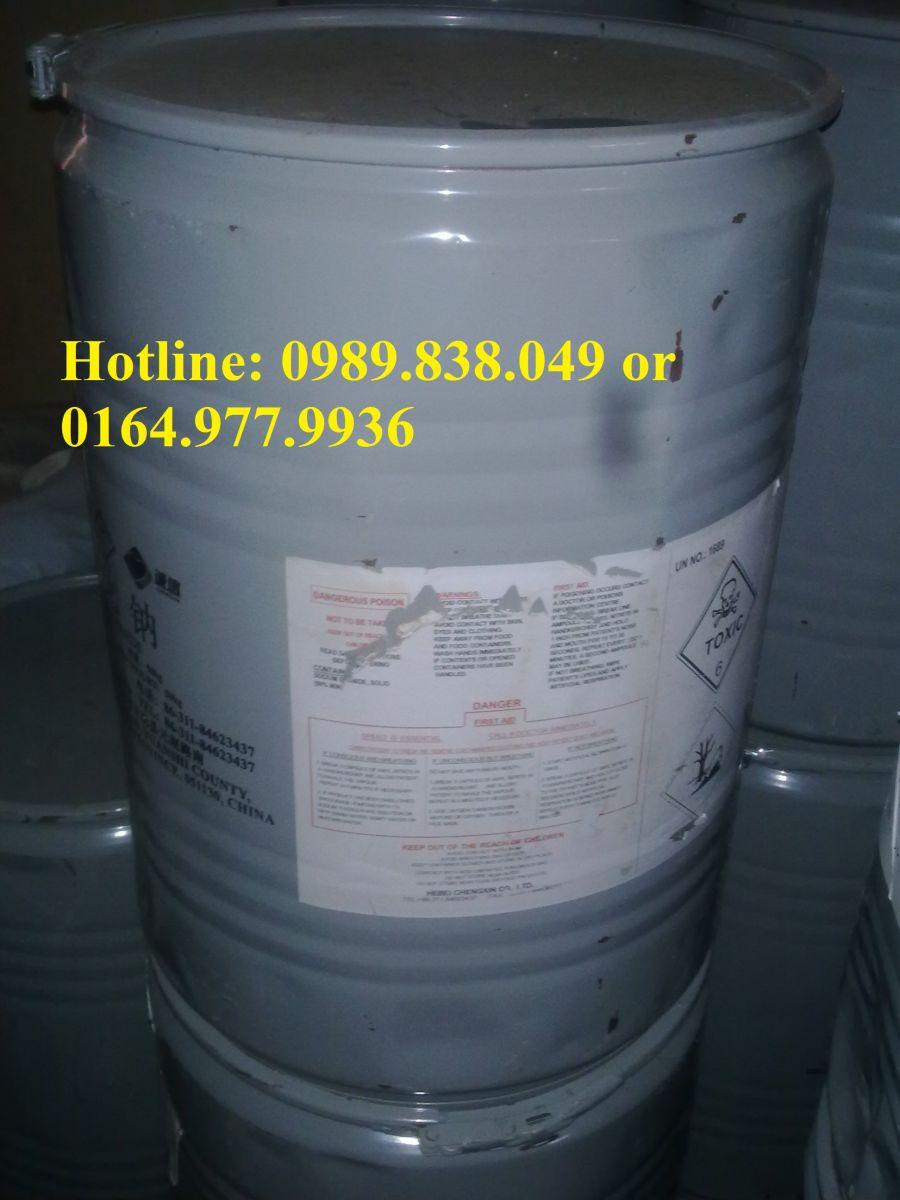Hoá chất công nghiệp Natri Xyanua - Sodium Cyanide - NaCN dùng trong xi mạ