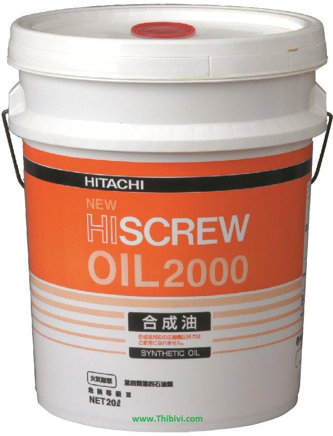 Dầu máy nén khí Hitachi Hiscrew oil 2000 new 55173320