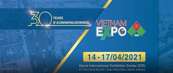 Hội chợ Thương mại Quốc tế Việt Nam lần thứ 30- Vietnam Expo 2021