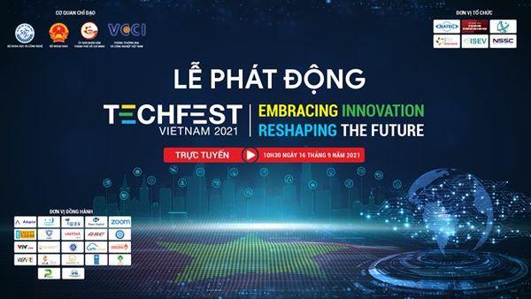 Ngày hội Khởi nghiệp Đổi mới sáng tạo quốc gia Techfest Việt Nam 2021