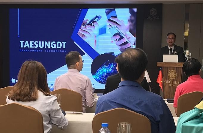 Taesungdt giới thiệu công nghệ sợi quang và tìm đối tác tại Việt Nam