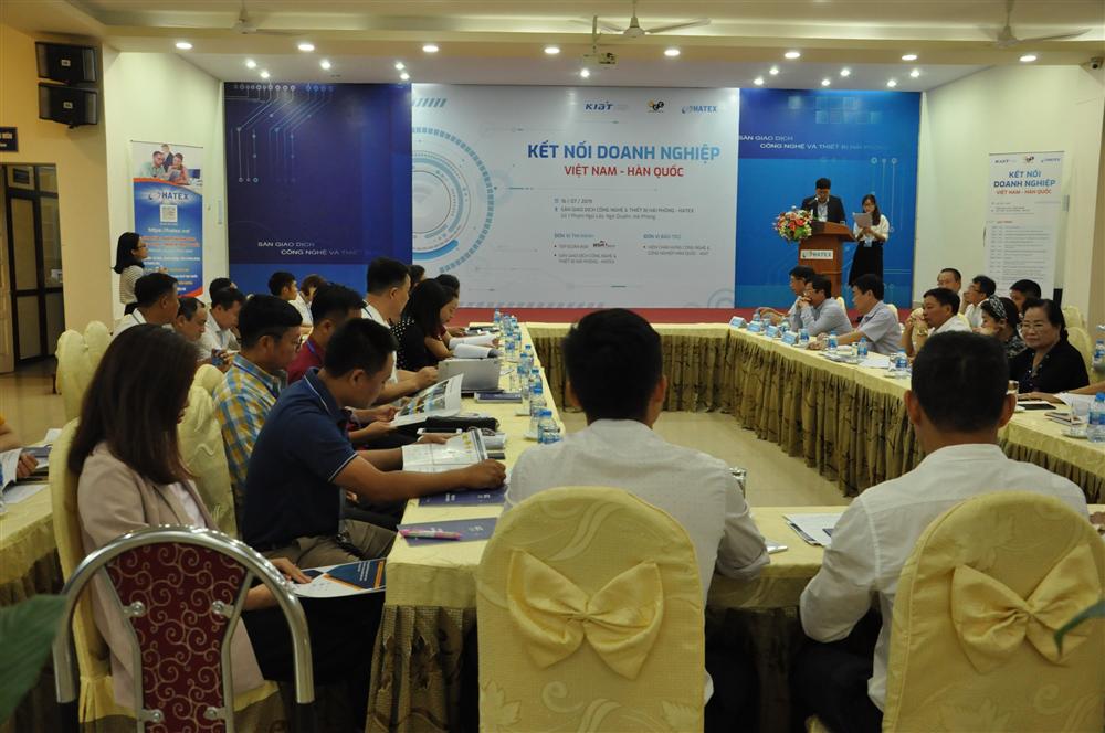 Kết nối công nghệ Việt Nam - Hàn Quốc