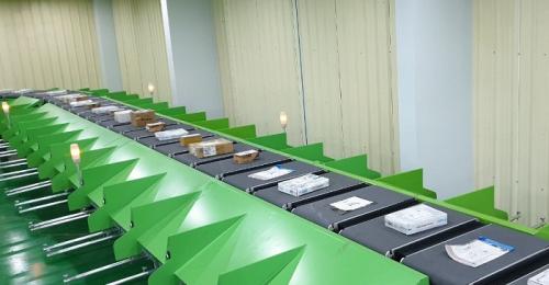 Giải pháp phân loại bưu kiện công nghệ cao