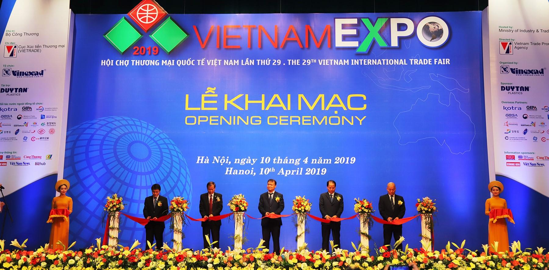Khai mạc Hội chợ Thương mại quốc tế Việt Nam (Vietnam Expo) 2019
