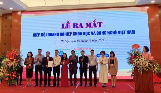 Ra mắt Hiệp hội DN Khoa học và Công nghệ Việt Nam