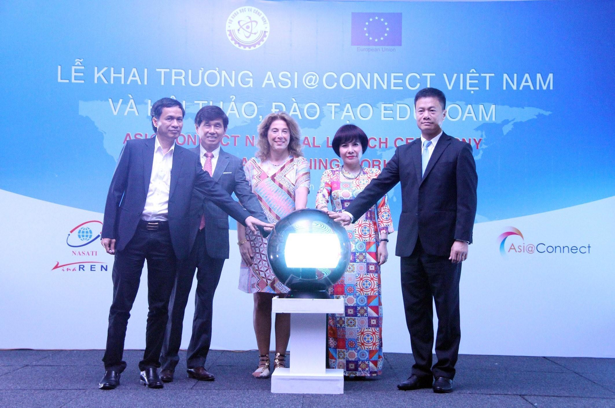 Lễ khai trương Dự án Asi@Connect tại Việt Nam