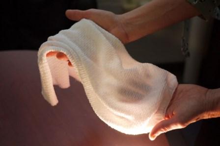 Chế tạo thành công vải tự sưởi ấm