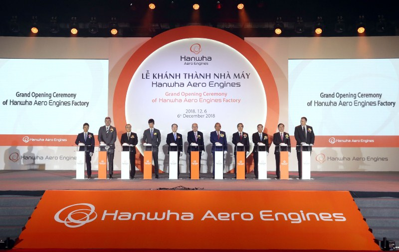 Khánh thành nhà máy sản xuất động cơ hàng không đầu tiên ở Việt Nam