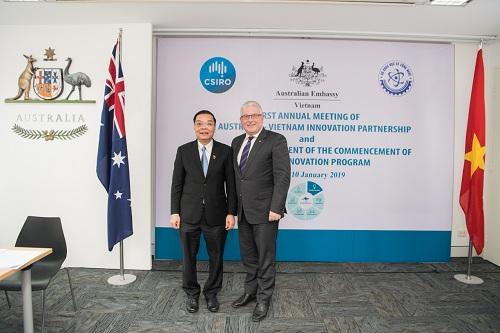 Khởi động chương trình: Tăng cường thúc đẩy hợp tác khoa học kỹ thuật và đổi mới sáng tạo Australia – Việt Nam (Aus4Innovation)