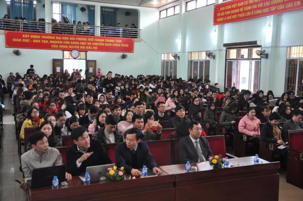 Hội thảo: Thúc đẩy khởi nghiệp đổi mới sáng tạo trong sinh viên