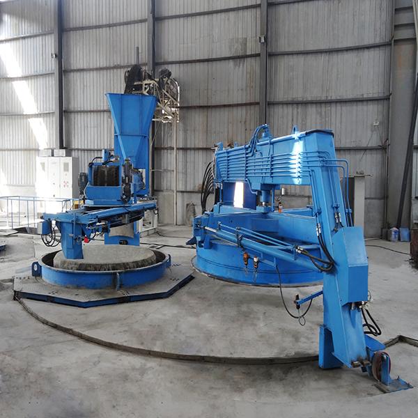 Dây chuyền sản xuất cống- công nghệ rung lõi