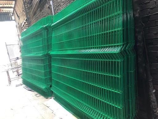 Hàng rào lưới thép hàn chấn sóng