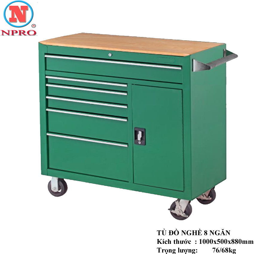 Tủ đựng đồ nghề 8 ngăn