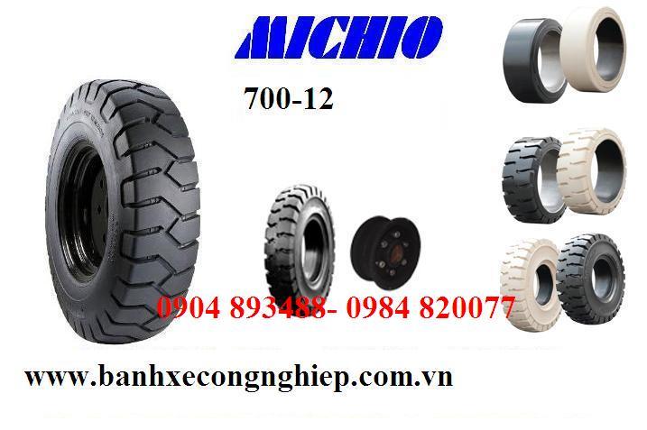 Lốp đặc xe nâng Michio Thái Lan