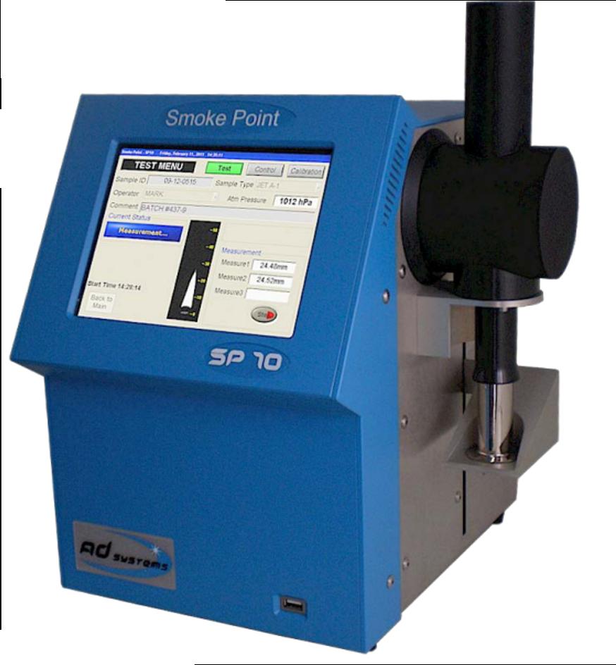 Thiết bị đo điểm khói tự động trong nhiên liệu JET A1- Automatic Smoke Point (SP10)