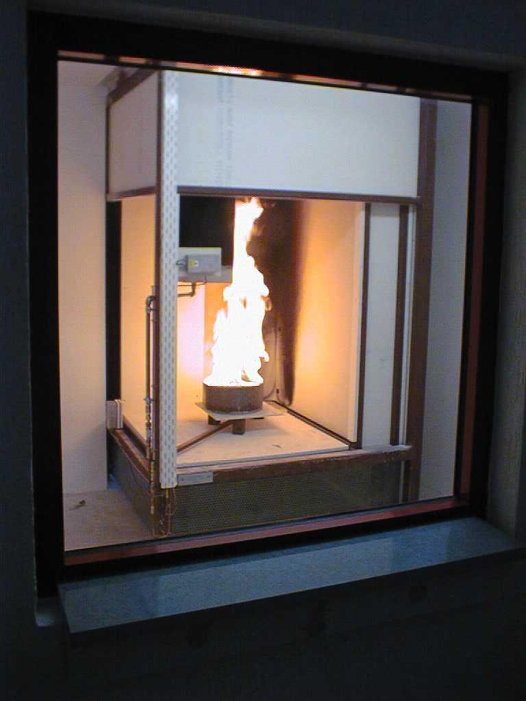 Thiết bị thử nghiệm khả năng cháy bằng ngọn lửa đơn (SBI)