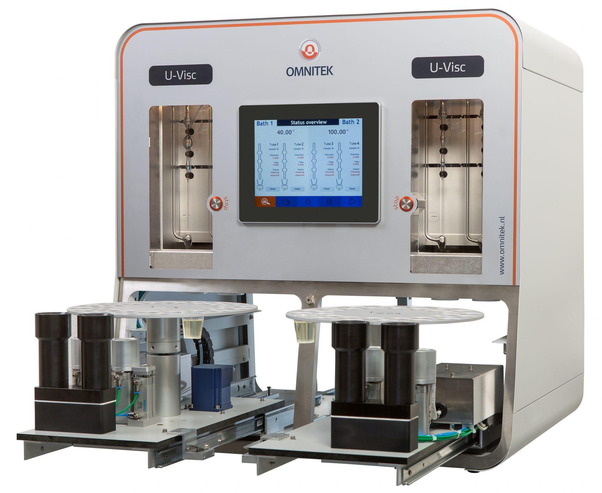 Máy đo độ nhớt 2 bể tự động U-VISC 220