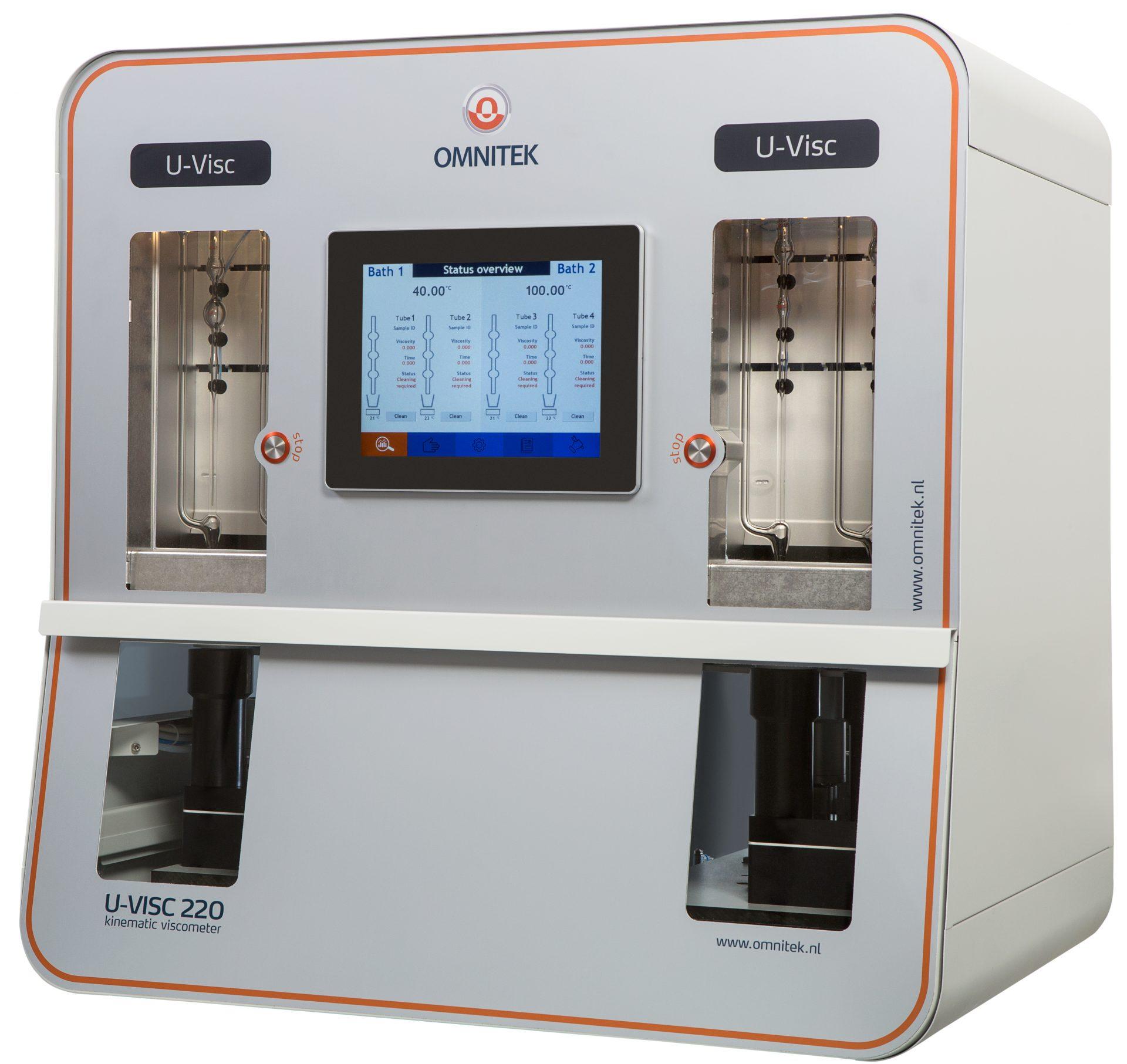 Máy đo độ nhớt 2 bể tự động U-VISC 210