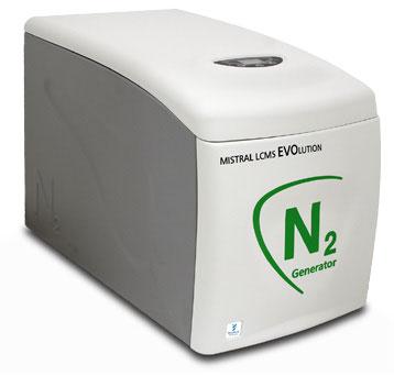 Máy sinh khí nitơ cho hệ sắc ký max. 40 L/ phút
