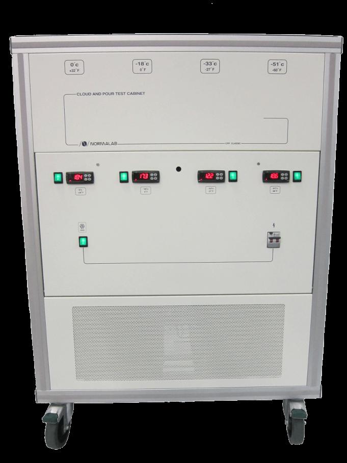 Thiết bị xác định điểm đông và điểm vẩn đục theo ASTM D97- Normalab CPP Classic