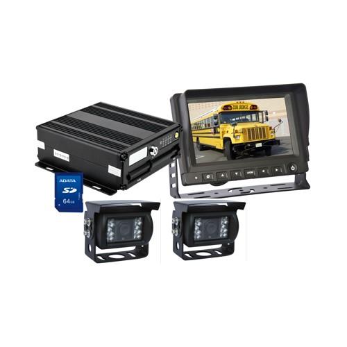 Bộ camera AT-8103DVR-SD64 chuyên dụng cho xe tải