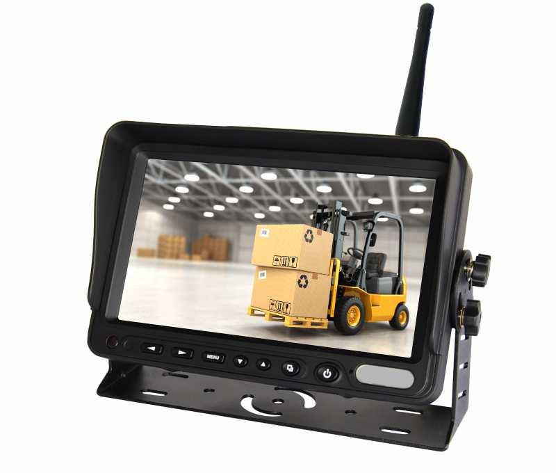 Bộ camera cho xe nâng sử dụng laser
