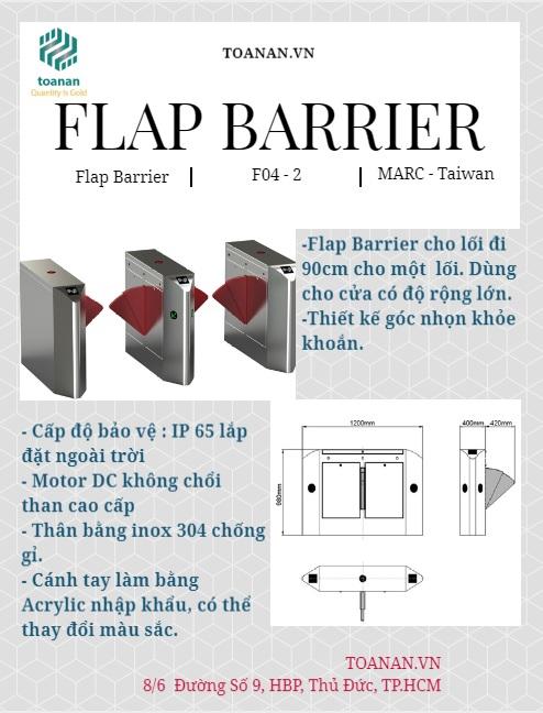 Flap barrier cho văn phòng MAC F04 -2