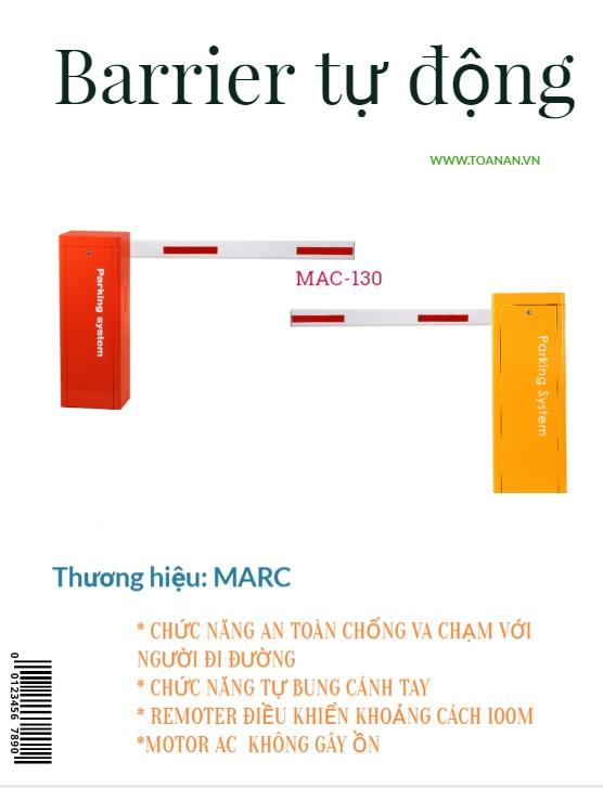 Barrier tự động MAC -130 Đài Loan