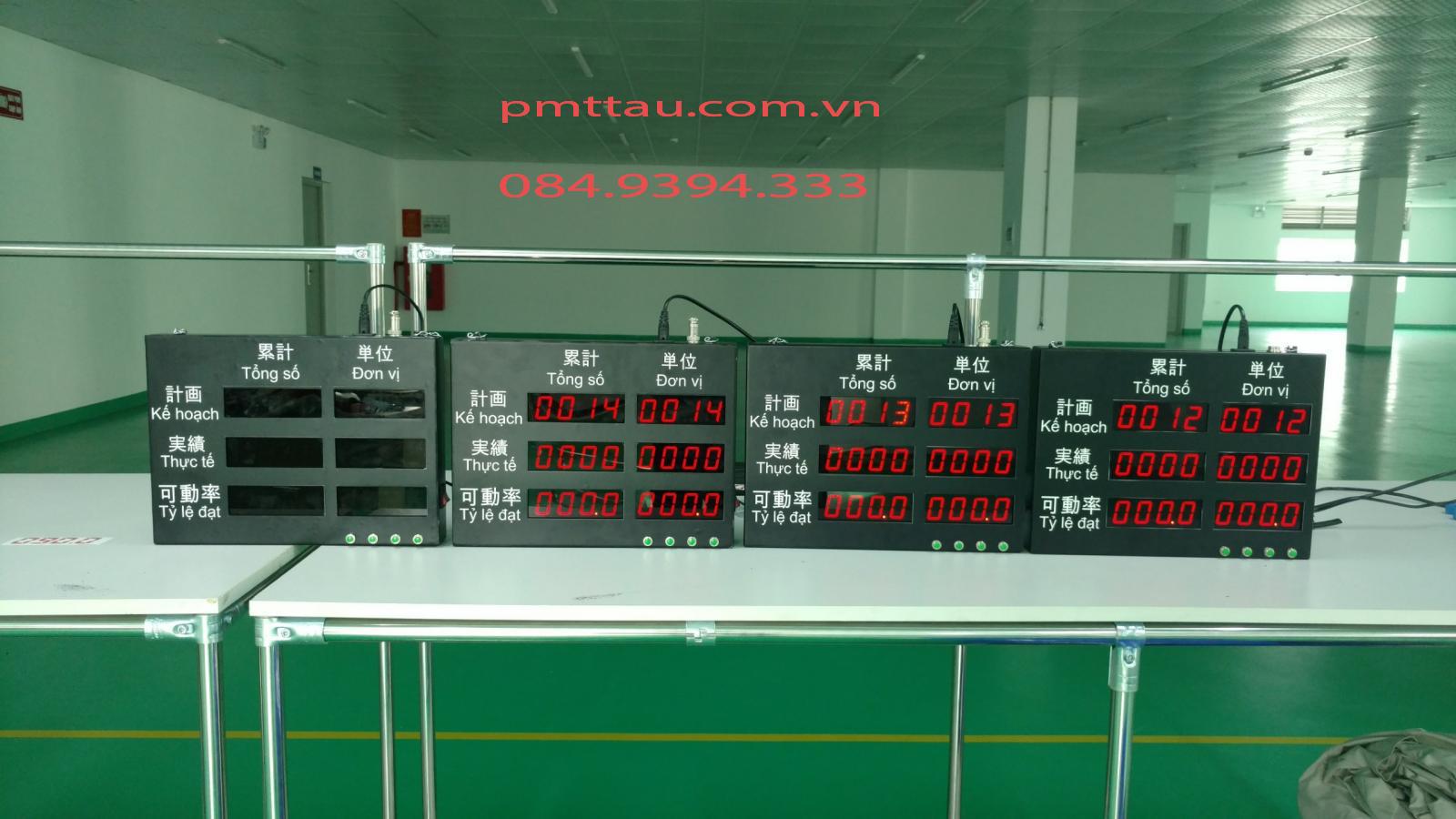 Bảng điện tử theo dõi kế hoạch sản xuất