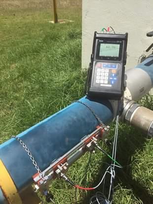 Đồng hồ lưu lượng siêu âm dạng cầm tay - Ultrasonic Flow Meter