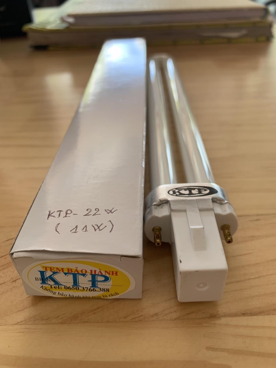 Bóng đèn thu hút côn trùng 11W dùng cho đèn KTP-22W
