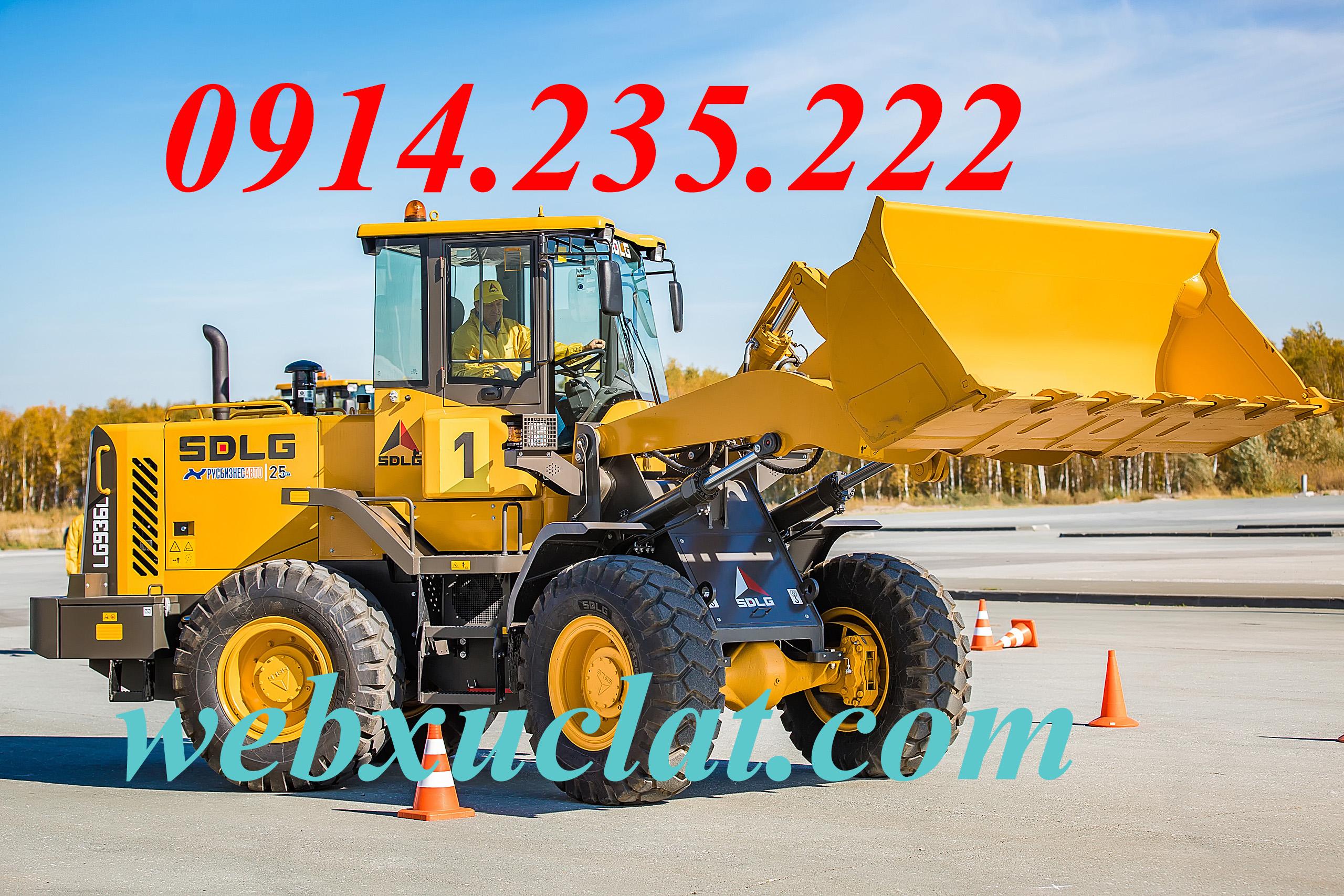 Máy xúc lật SDLG LG936L gầu 2.2m3