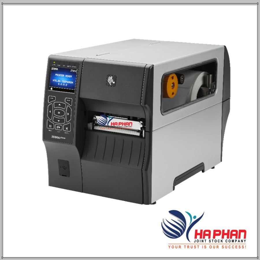 Máy in mã vạch Zebra ZT410- 203DPI/ 300DPI/ 600DPI