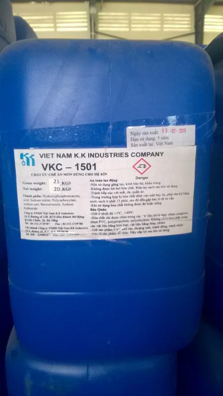 Cung cấp hóa chất chống cáu cặn ăn mòn VKC-1501