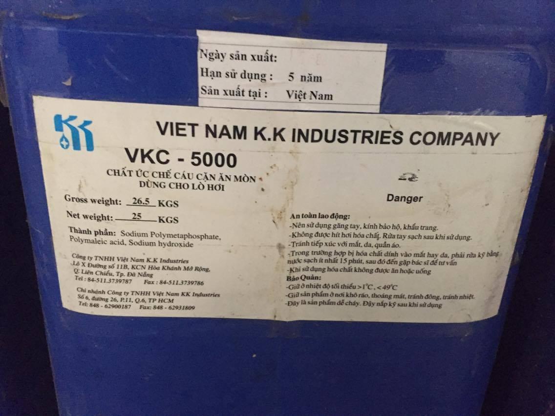 Hóa chất chống cặn lò hơi VKC-5000