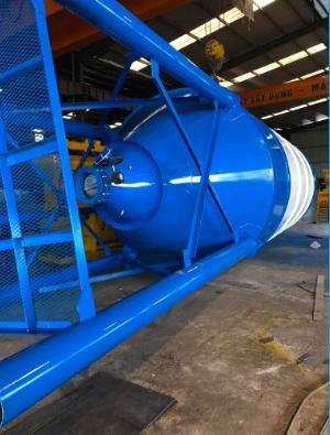 Silo cấp liệu 30 tấn- 120 tấn